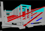 graphic of 3D Laser Scanning Informs VDC