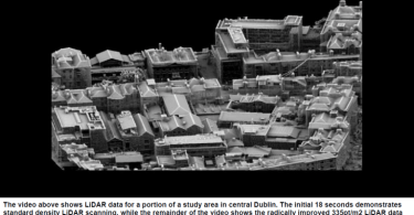 3D image of Urban Infrastructure Preserved with Lidar Survey