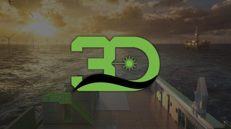 logo for 3D at Depth Provides Subsea Lidar Services