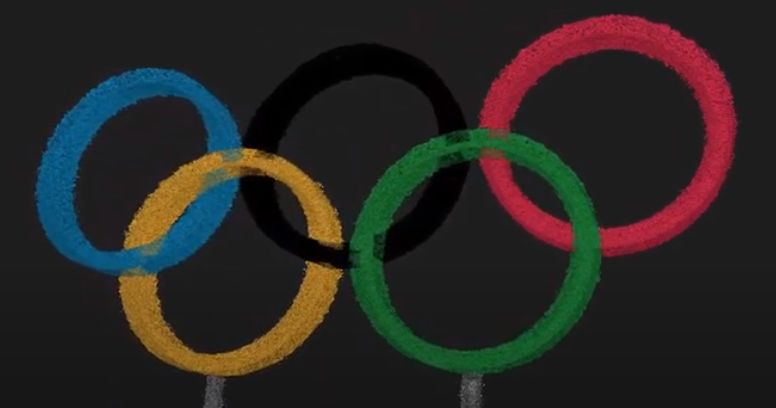 scan of GeoSLAM Documents London's Olympics Rings