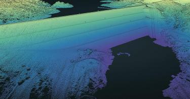 Pint Cloud of Drone Lidar Supports Dam Failure Study