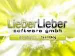 LieberLieber teamblog
