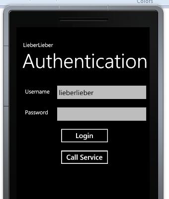 WP7 authentication via asp net applications | LieberLieber