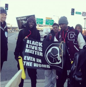 Black LIves Matter even in teh womb MFL 2015