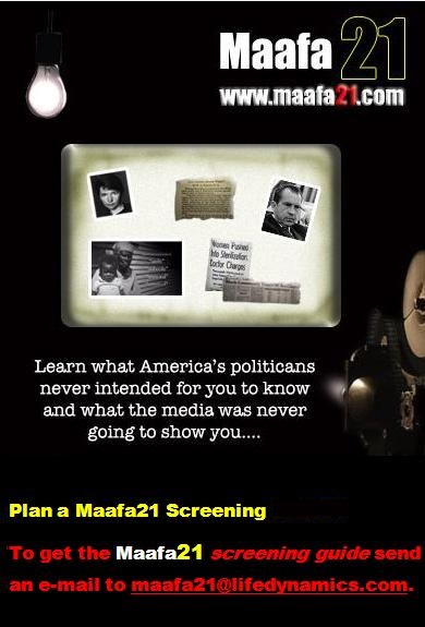 Maafa21 Black Genocide Film SCreening Americas Politicians