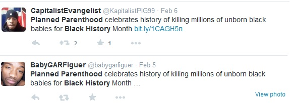 Planned Parenthood and Black History Month tweets 7