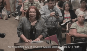 Alveda King at El Centro meeting