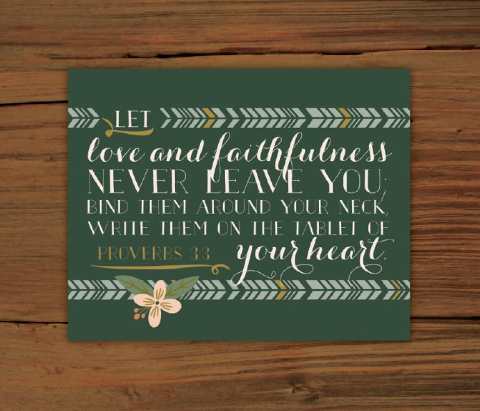 blog proverbs3.3