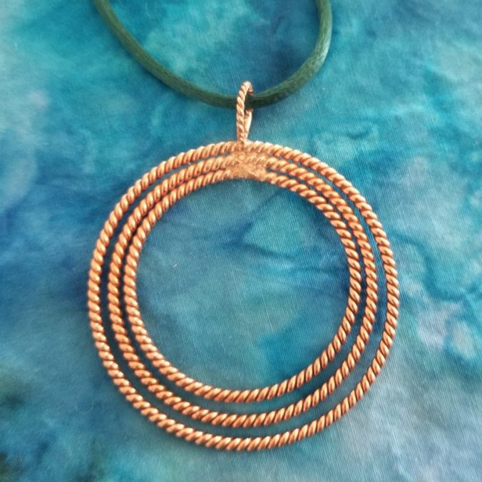 Copper Moon Pendant | Light-Life Technology