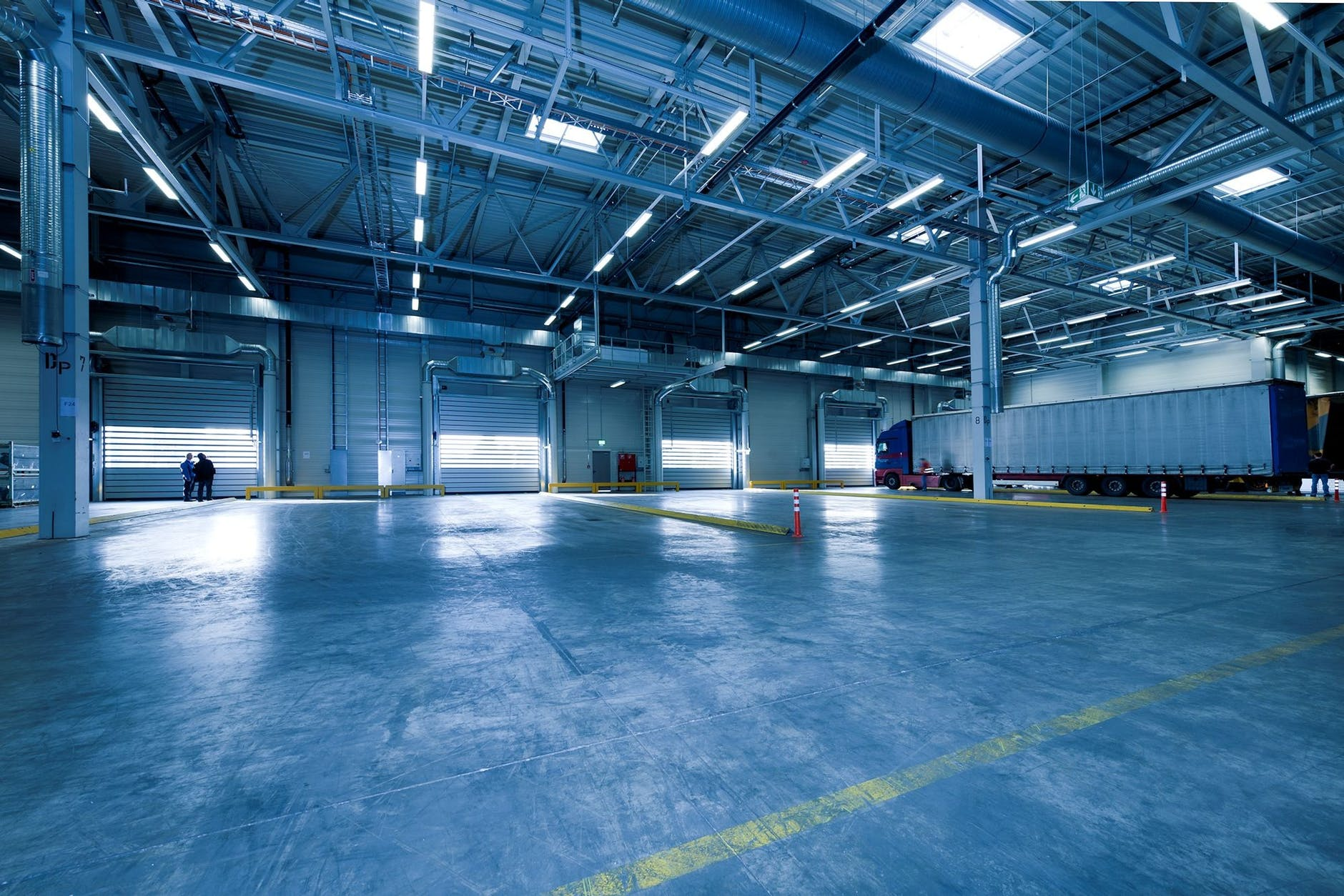 industrial and commercial spaces