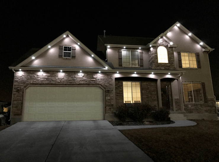 recessed soffit lighting
