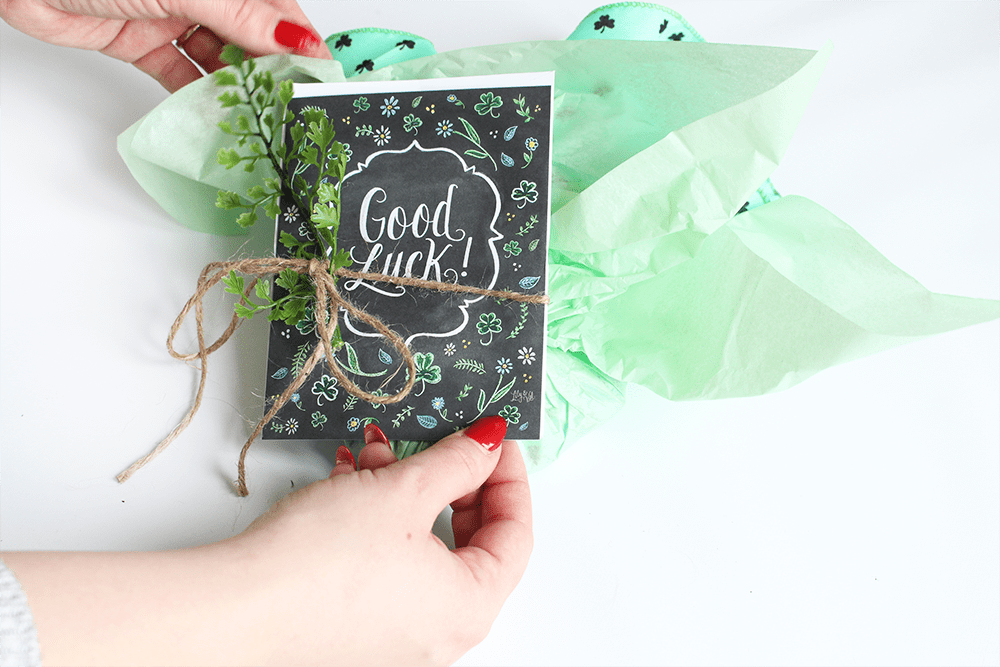 Good Luck snail mail | inspired snail mail | gifts for a friend