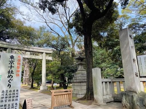 赤坂氷川神社入口の鳥居