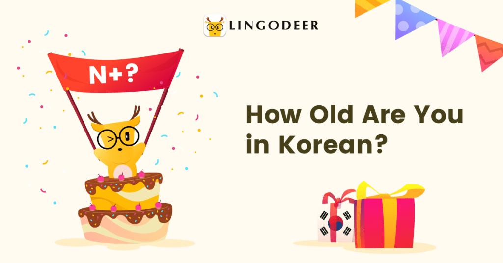korean age system