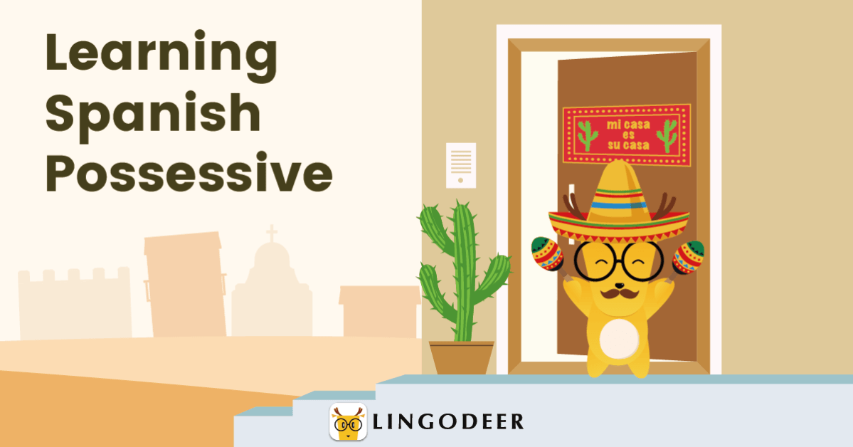 possessive pronouns in Spanish