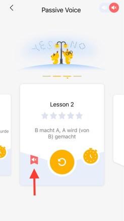 learn german lingodeer app silent mode