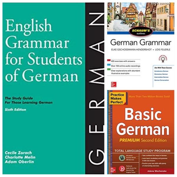 learn German grammar books