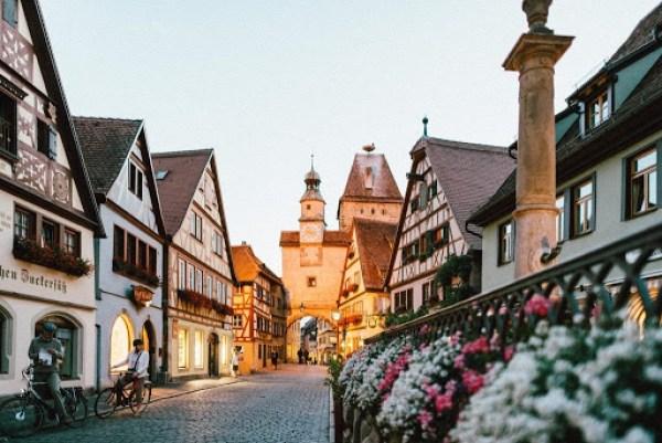 learn German: German city