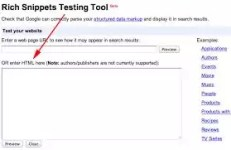 Google Snippet testing