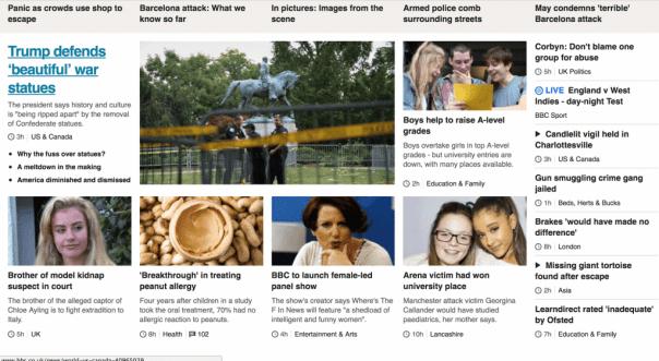 BBC SEO fail