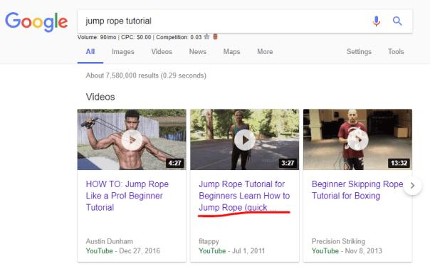 jump rope tutorial