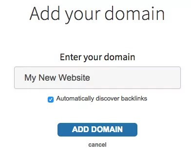 change domain name