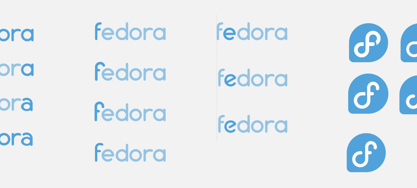 Fedora logo redesign update