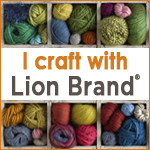 I craft with Lion Brand