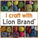 I craft with Lion Brand