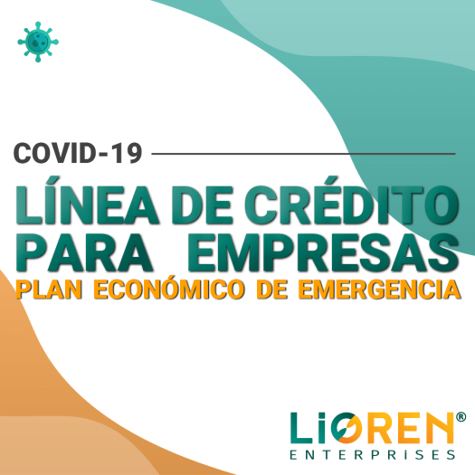 Línea de crédito Covid-19 para empresas Lioren