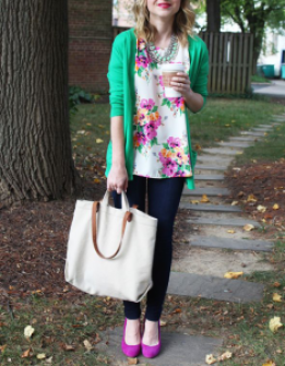 Pretty Prints for Spring Outfit