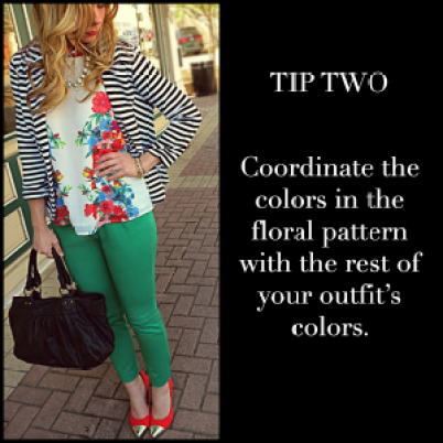 Floral Prints Tip Two