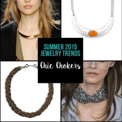 Top Summer Trends - Chic Chokers