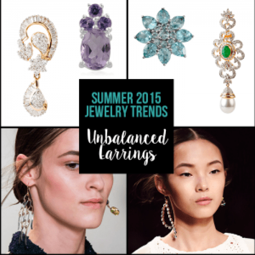 Top Summer Trends - Unbalanced Earrings 2