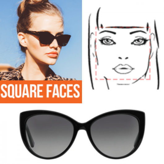 A Guide to the Perfect Pair of Sunglasses for Any Face Shape - Square Faces