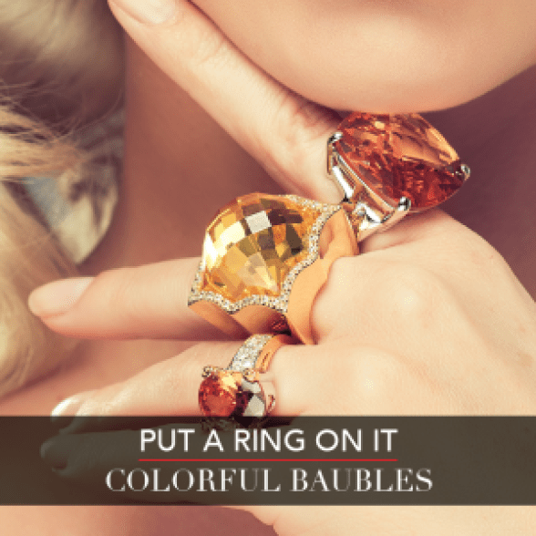 LC Fall Fashion Week - Put A Ring On It - Colorful Baubles