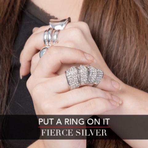 LC Fall Fashion Week - Put A Ring On It - Fierce Silver
