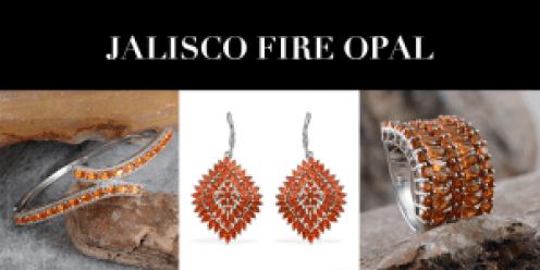 October Birthstone - Opal - Jalisco Fire Opal