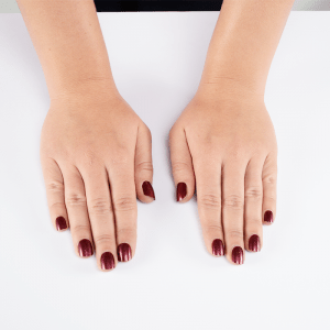 Beauty Show Preview - Red Plum Nails