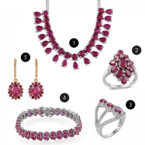 July birthstone jewelry gifts.