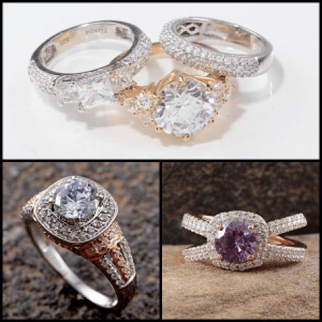 Trendspotter - Nontraditional Bridal Trends - ELanza Collage