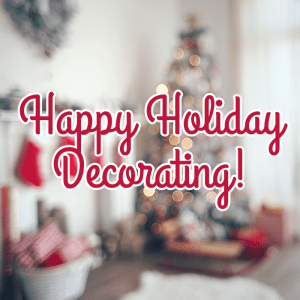 Happy Decorating