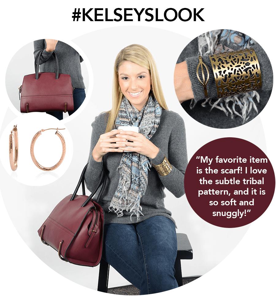 Look of the Week - Coffee with Friends - Kelsey