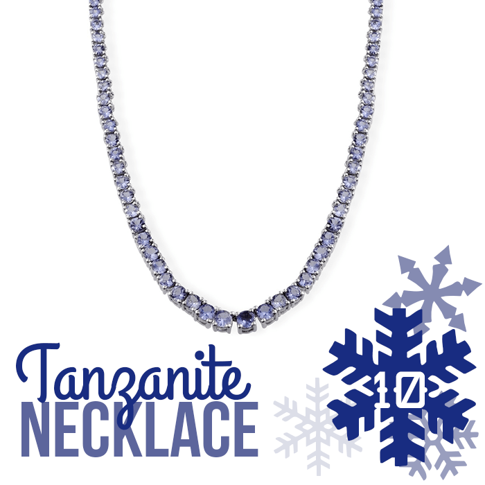 12 Days of Tanzanite - 10 - Tanzanite Necklace