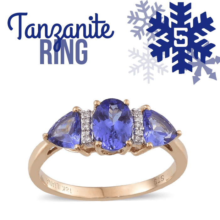 12 Days of Tanzanite - 5 - Tanzanite Ring