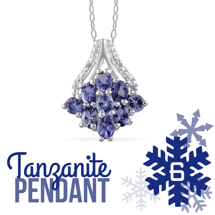12 Days of Tanzanite - 6 - Tanzanite Pendant