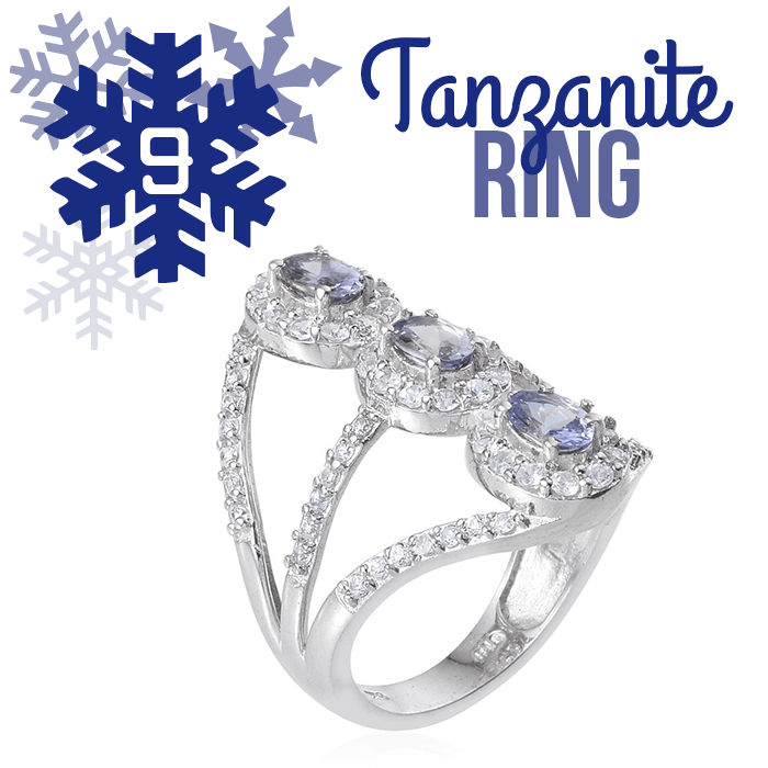 12 Days of Tanzanite - 9 - Tanzanite Ring