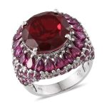 Blazing Red Quartz Jewelry | 2016 Fall Gemstone Guide