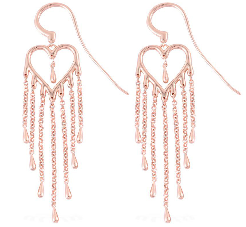 Fashion Week Roundup Jewelry - Lucy Q Melting Heart Collection Earrings