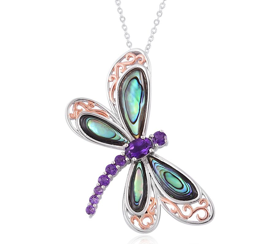 Halloween Jewelry - Dragonfly Necklace